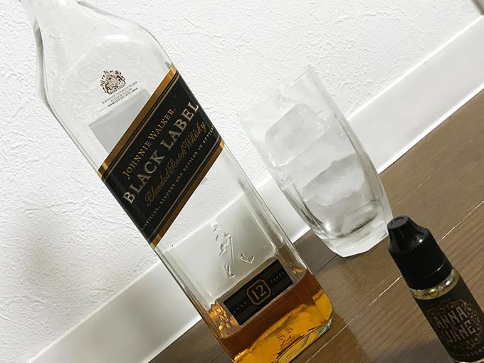 ジョニ黒ウィスキーとアンナジェーン