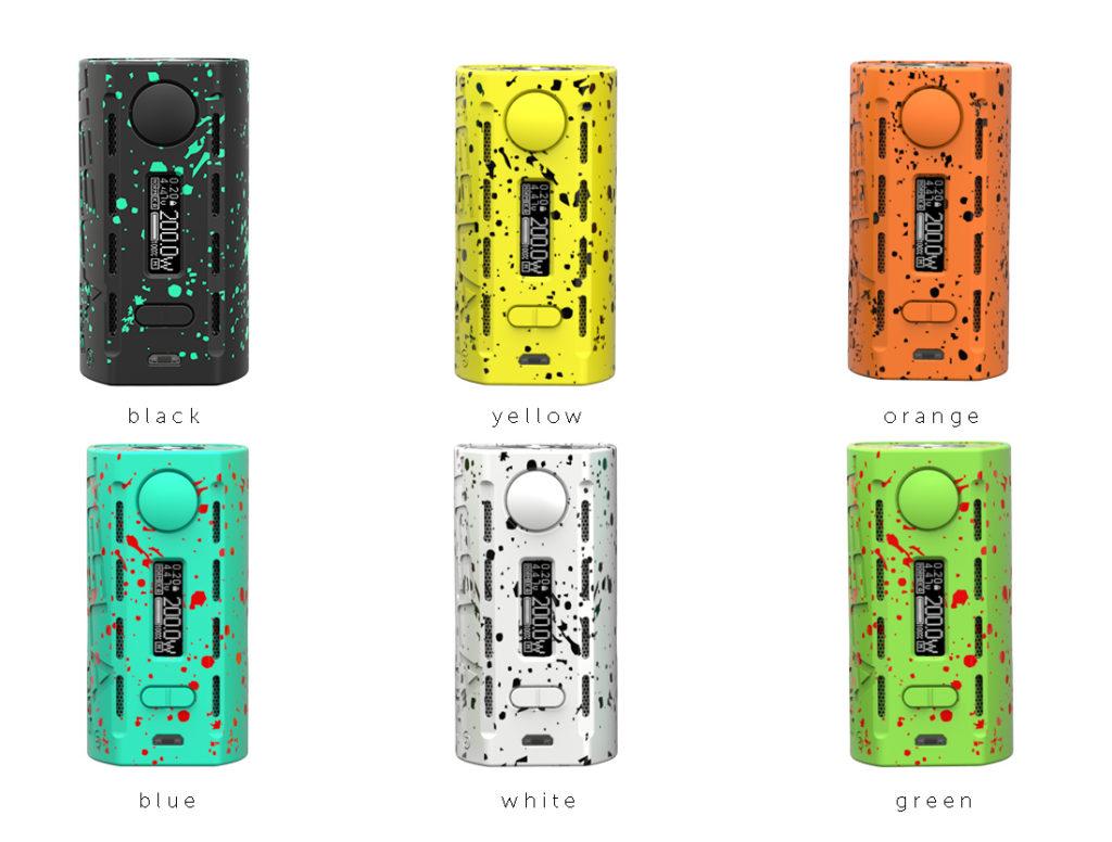 6色のカラーバリエーション